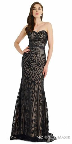 Embroidered Sequin Sweetheart Evening Dress by Morrell Maxie http://picvpic.com/women-dresses-evening-formal-dresses/embroidered-sequin-sweetheart-evening-dress-by-morrell-maxie?ref=V5Df81