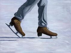 Winter Art, Summer Winter, Dry Heat, Ice Skaters, Art For Sale, Arizona, Oxford Shoes, Cool Stuff, Hot