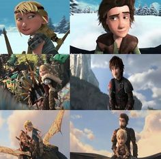 Still look at each other the exact same Dreamworks Movies, Dreamworks Dragons, Dreamworks Animation, Cartoon Movies, Disney And Dreamworks, Httyd, Hicks Und Astrid, Dragon Sketch, Hiccup And Astrid