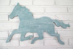 Rustic Blue Horse Sign Wall Decor Wood Horse Weathervane Farm Country Wall Art #5510 Country Wall Art, Country Farm, Dog Signs, Wall Signs, Rustic Blue, Rustic Wood, Blue Horse, Kids Wall Decor, Nature Decor