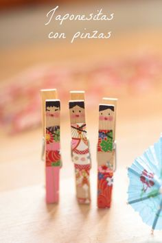DIY Clothespin Dolls | petit-on.com
