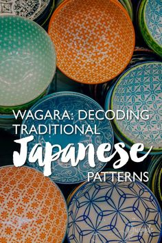 Decoding the Meaning of Wagara - Traditional Japanese PatternsWagara - traditional Japanese patterns - each have their own inspiration, meaning and history that bring new significance to the objects they decorate visitjapan design pattern culturaltravel Japanese Colors, Japanese Patterns, Sashiko Embroidery, Japanese Embroidery, Japanese Paper, Japanese Fabric, Textile Patterns, Floral Patterns, Japanese Graphic Design