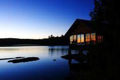 cabin lake house - Google Search
