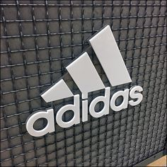 Adidas-Branded Wire-Mesh Island Display Adidas Brand, Adidas Logo, Retail Fixtures, Wire Shelving, Wire Mesh, Store Design, Logo Branding, Display, Island