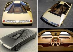 Dark Roasted Blend: Futuristic Concept Cars of the 1970-80s
