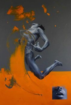 Realistic yet abstract paintings by Eduardo Mata Icaza - Bleaq - After featuring artists three times a week at Bleaq for over a year now you might think I never com - Art And Illustration, Figure Painting, Painting & Drawing, Arte Dope, Figurative Kunst, Kunst Online, Ap Art, Human Art, Art Graphique