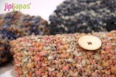 Cuellos tejidos con lana rasta de lmhilaturas