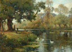 William Kay Blacklock - Rural Landscape (c.1915)