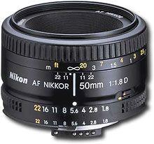 Nikkor 50 mm.  A solid portrait lens