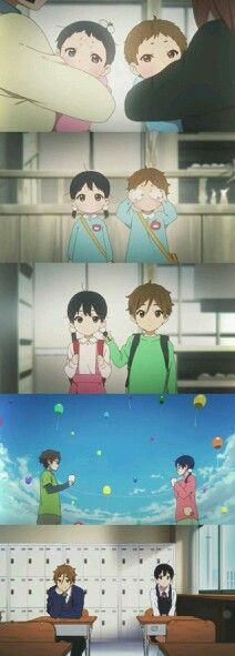 Tamako love story I watched this anime at 2:30 in the mourning I regret nothing