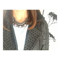 Today I'm wearing Cuchara Frozen Pearl necklace - available at collectiveboutique.co.uk #tiw #wiwt