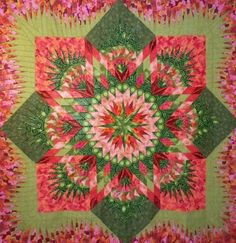 Hawaiian Star, Quiltworx.com, Made by Connie Lange