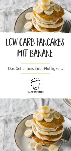Low Carb Pancakes mit Banane What a breakfast treat: You will definitely enjoy these low-carb pancak Best Egg Recipes, Healthy Egg Recipes, Low Carb Recipes, Perfect Deviled Eggs, Deviled Eggs Recipe, Chocolate Chip Pancakes, Banana Pancakes, Low Carb Breakfast, Breakfast Recipes