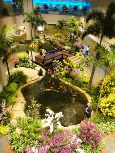 Best airport in the world according to me. Changi International Airport, Singapore.