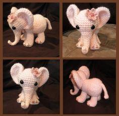 Toooo cute!! I MUST make this!! Ella the Elephant PDF Crochet Pattern by luvbug026 on Etsy $4.99