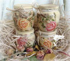 "Decoupage Blessings ideas~""Hattie's Vintage Crafts""~"