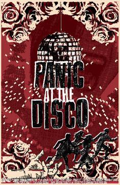 GigPosters.com - Panic At The Disco - Motion City Soundtrack - Phantom Planet - Hush Sound, The