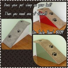 Pet Ramps at Hampton Bay Pet Steps On Sale Now! $109