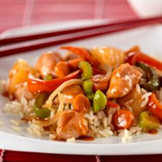 Slow-Cooker Sweet & Sour Chicken @keyingredient #chicken #slowcooker
