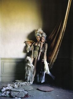 Tim Walker. 18th century inspired
