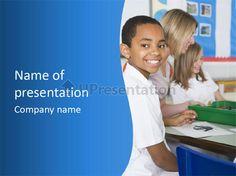 Teacher mid school PowerPoint Template
