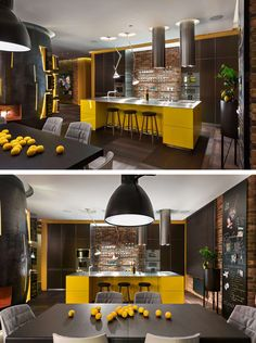 Baraban Design Studio have completed the interiors of an apartment in Kiev, Ukraine.