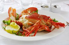 Crayfish Garden Fencing, Catering, Dishes, Food, Plate, Essen, Utensils, Yemek, Meals
