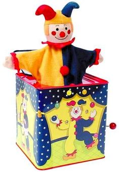 ok, so here's the JITB that my daughter has...I can understand people with clown phobia's....