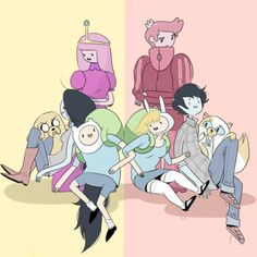 Adventure Time, two worlds, one family
