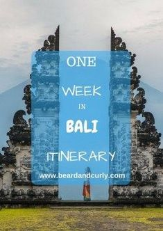 One Week Bali Itinerary, One Week in Bali - The Perfect Itinerary, One Week Bali Itinerary, Best Things to Do in Bali, Top Things to See in Bali, check out more at www.beardandcurly.com