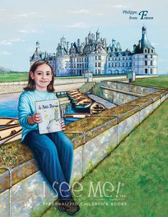 "France - As featured in ""My Very Own World Adventure"" personalized children's book by I See Me!"
