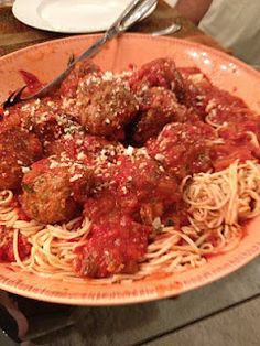 Homemade Meatballs!!!!!!!!!!!  Recipe from when my parents went to Italy for cooking school- so you know they will be great!!!
