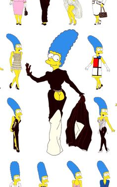 Marge Simpson In Designer Land | The House of Beccaria#