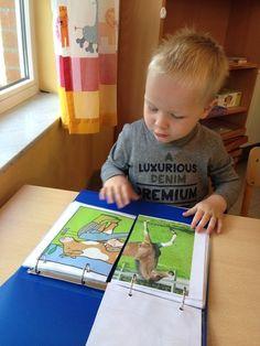 puzzelboek School Age Activities, Autism Activities, Animal Activities, Toddler Activities, Body Preschool, Preschool Centers, Childhood Education, Kids Education, Teaching Kids