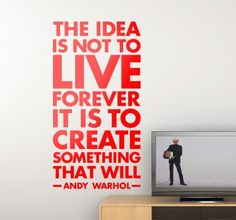 What about an inspiring #quote for your #home? Keeps you motivated throughout the day
