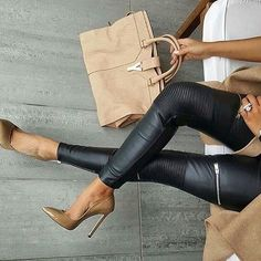 Fashion – Great Looks, What To Wear 2019 Sexy Outfits, Chic Outfits, Fall Outfits, Look Office, Look Fashion, Womens Fashion, Fall Fashion, Casual Chic, What To Wear