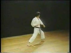 Heian Shodan. Karate Shotokan. With Hirozaku Kanazawa. The most popular image associated with kata is that of a karate practitioner performing a series of punches and kicks in the air. The kata are executed as a specified series of approximately 20 to 70 moves.
