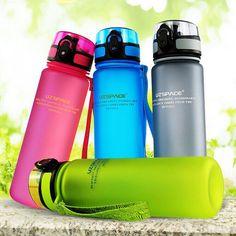 2016 500 МЛ/1000 МЛ UZSPACE Тритан BPA БЕСПЛАТНЫЕ Портативный Пространство Чашки…