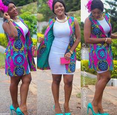 Top Ten Unique Ankara Styles Jacket You Should Try Dabonke African Inspired Fashion, African Print Fashion, Africa Fashion, Fashion Prints, Men's Fashion, African Print Dresses, African Fashion Dresses, African Dress, African Prints