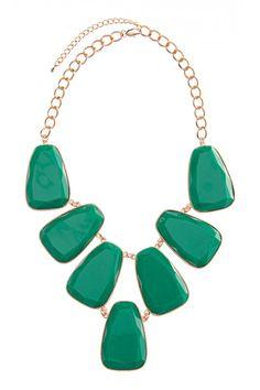 Colette, 7 Large Stone Necklace