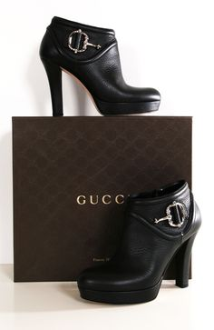 #GUCCI #BOOTS #BLACK
