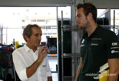 Yes you see Giedo, I let Ayrton win all those races because I was a nice guy!