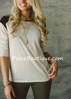 Piace Boutique - Forward March Top (Dex), $38.99 (http://www.piaceboutique.com/forward-march-top-dex/)