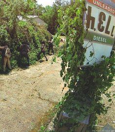 Avez-vous vu le message caché dans l'épisode 4 de The Walking Dead ?