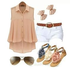 Cool summer look