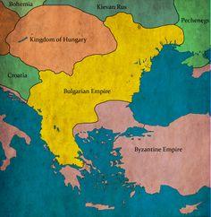 Bulgaria under Tsar (emperor) Samuil, 998 AD