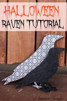 Halloween Raven Tutorial