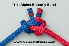 Alpine Butterfly Bend   How to tie the Alpine Butterfly Bend   Boating Knots