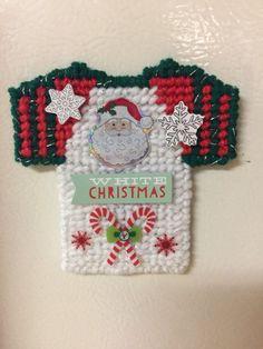Christmas Jersey Shirt Magnet