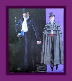 Mens Costume Sewing PatternVictorian Three by FarfallaDesignStudio, $24.00